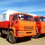 Фургон мастерская с КМУ